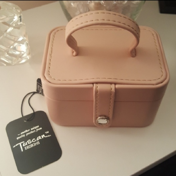 Tuscan Designs Bags Nwt Blush Travel Jewelry Box Poshmark